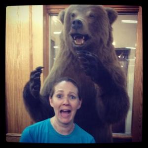 Ah! A bear!