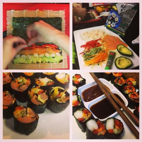 Paleo / Gluten-Free Sushi Rolls